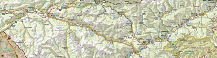 Naturparkkarte Steiermark